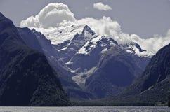 Het Geluid van Milford Mooi Nieuw Zeeland Royalty-vrije Stock Foto