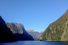 Het Geluid van Milford, Nieuw Zeeland Royalty-vrije Stock Foto's