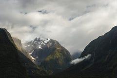 Het Geluid van Milford, Nieuw Zeeland royalty-vrije stock afbeelding