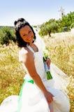 Het geluk van de bruid Royalty-vrije Stock Fotografie