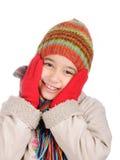 Het geluk van de winter Stock Afbeelding