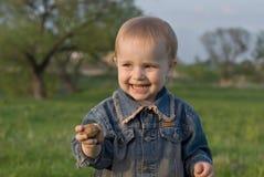 Het geluk van kinderen Royalty-vrije Stock Afbeeldingen