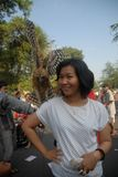 HET GELUKindex VAN INDONESIË Stock Afbeeldingen