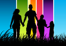 Het gelukkige Concept van de Familie Stock Foto's