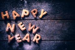 Het gelukkige Concept van het Nieuwjaar Stock Afbeeldingen