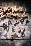 Het gelukkige Concept van het Nieuwjaar Stock Foto