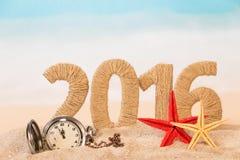 Het gelukkige Concept van het Nieuwjaar Royalty-vrije Stock Foto