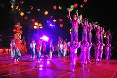 Het gelukkige Festival 2011 Foshan van de Oogst van de Daling Stock Afbeeldingen