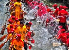 Het gelukkige Festival van de Boot van de Draak Stock Afbeeldingen