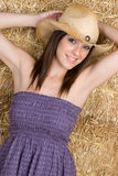 Het gelukkige Glimlachen van het Meisje Royalty-vrije Stock Fotografie