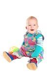 Het gelukkige jonge geitje Royalty-vrije Stock Fotografie