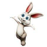 Het gelukkige konijntje van Pasen royalty-vrije illustratie