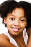 Het gelukkige meisje stellen Stock Fotografie