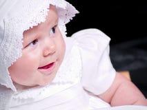 Het gelukkige Meisje van de Baby Stock Fotografie