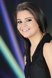 Het gelukkige Meisje van de Tiener Stock Afbeelding
