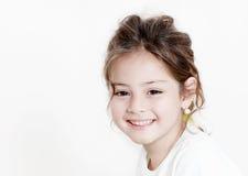 Het gelukkige meisje van het portret Royalty-vrije Stock Foto's
