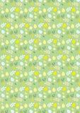 Het gelukkige naadloze groene patroon van Pasen Royalty-vrije Stock Afbeelding