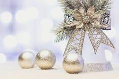 Het gelukkige nieuwe jaar/huwt Kerstmis Royalty-vrije Stock Foto's