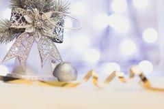 Het gelukkige nieuwe jaar/huwt Kerstmis Stock Foto