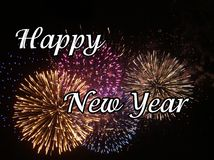 het gelukkige nieuwe jaar van 2009 Royalty-vrije Stock Afbeeldingen