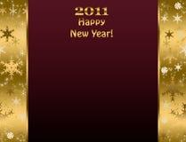 Het gelukkige Nieuwe jaar van 2011 Stock Afbeelding