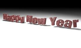 Het gelukkige nieuwe jaar van de chocolade Stock Fotografie