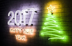 het gelukkige Nieuwjaar 2017 van 2017 Royalty-vrije Stock Foto