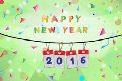 Het Gelukkige Nieuwjaar van de viering Royalty-vrije Stock Foto
