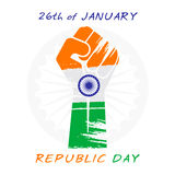 Het gelukkige ontwerp van de de daggroet van de republiek Stock Foto's