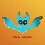 Het gelukkige Pictogram van Halloween Vector illustratie Stock Foto