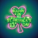 Het gelukkige St Patricks Teken van het Dagneon Royalty-vrije Stock Afbeeldingen