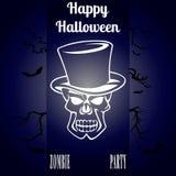 Het gelukkige Vectorboekje van Halloween Stock Fotografie