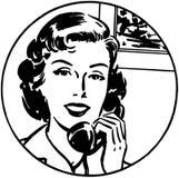 Het is Gemakkelijkst telefonisch #1 royalty-vrije illustratie
