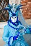 Het gemaskeerde model van Venetië Carnaval stock afbeeldingen