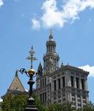 Het gemeentelijke Gebouw in de Stad van New York stock afbeeldingen