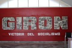 Het gemeentelijke museum van Playagirã ³ n, Cuba stock foto's