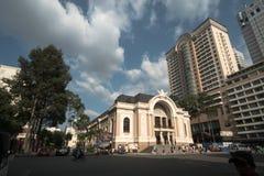 Het Gemeentelijke Theater Royalty-vrije Stock Foto's