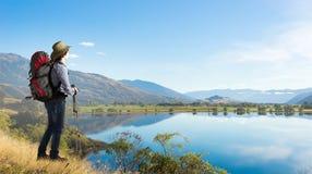 Het genieten van aard van wildernis! Stock Fotografie
