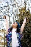 Het genieten van de van Herfst royalty-vrije stock fotografie