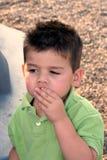 Het genieten van een van Snack 2 stock foto