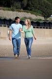 Het genieten van van dagtocht bij het strand Royalty-vrije Stock Foto's