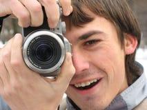 Het genieten van van fotografie Royalty-vrije Stock Afbeeldingen
