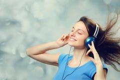 Het genieten van van muziek royalty-vrije stock fotografie