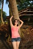 Het genieten van van zonneschijn Royalty-vrije Stock Foto's