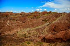 Het Geologische Park van Zhangyedanxia Stock Afbeelding