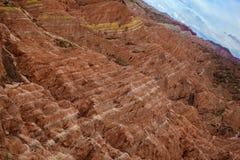 Het Geologische Park van Zhangyedanxia Royalty-vrije Stock Afbeeldingen