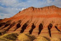 Het Geologische Park van Zhangyedanxia Stock Fotografie