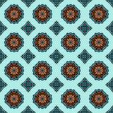 Het geometrische naadloze patroon van de giftomslag Stock Afbeelding