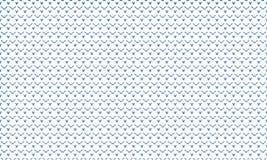 Het geometrische naadloze patroon van de stervorm, achtergrond Stock Fotografie
