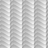 Het geometrische naadloze patroon van golven lichte en donkere lijnen Stock Afbeelding